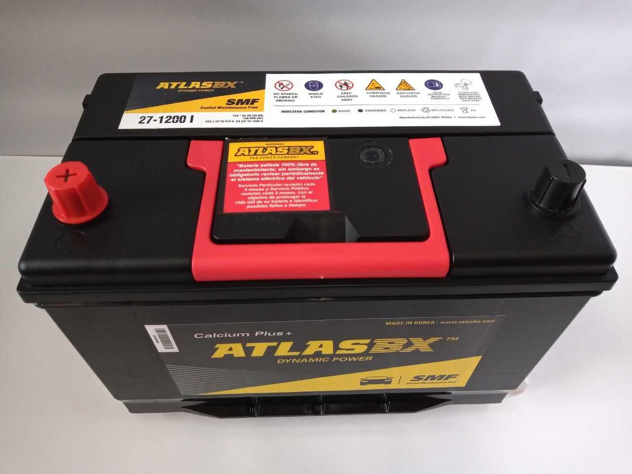 Bateria Atlas 271200 I