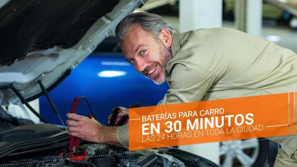 baterías para carro en 30 minutos