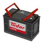 Batería Tudor 31T1250T Domicilio gratis