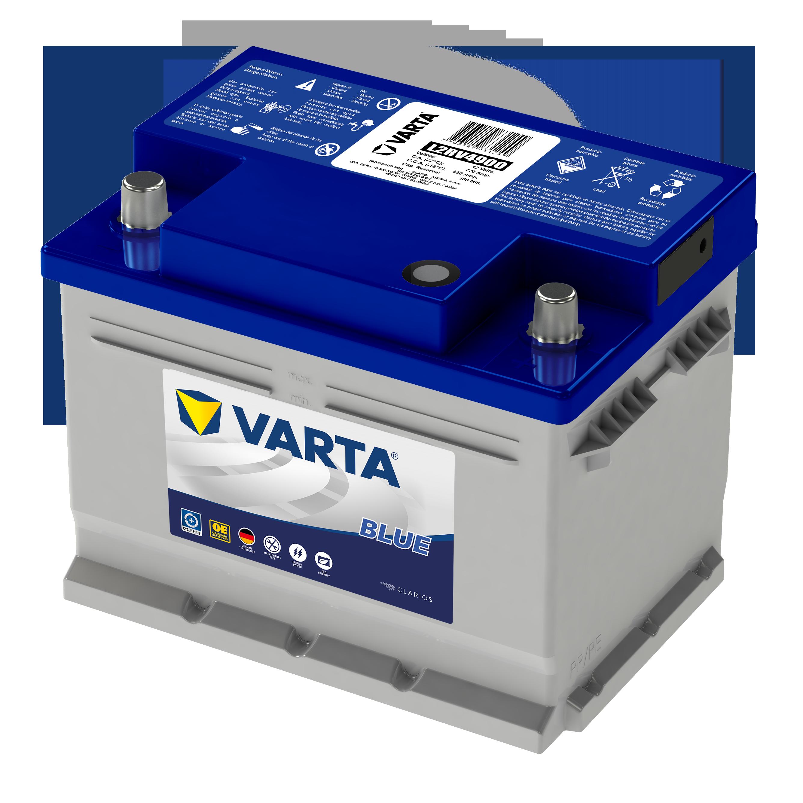 Bateria Varta Blue L2RV4900 Domicilio Gratis