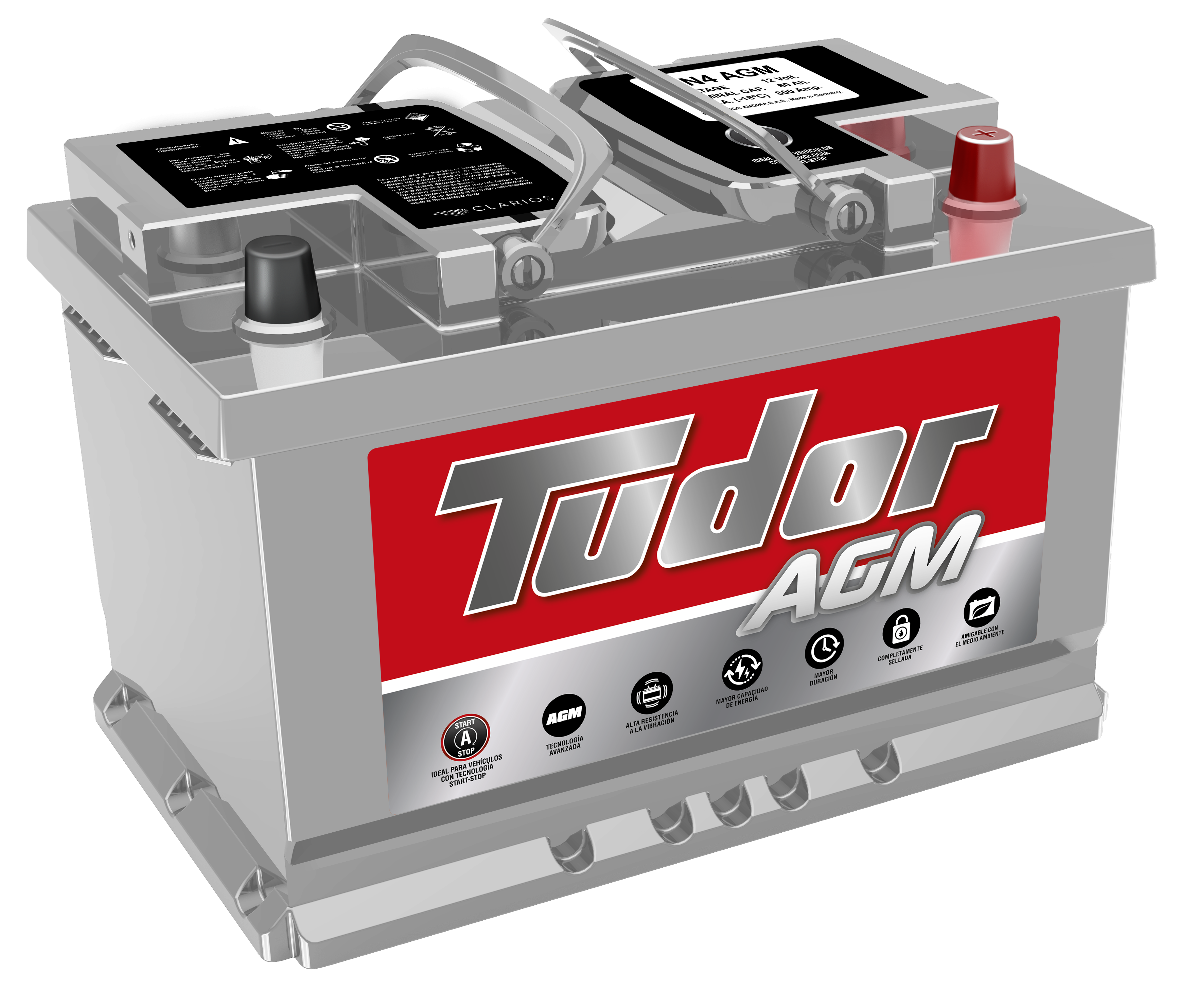 Batería Tudor LN3-T AGM Domicilio gratis